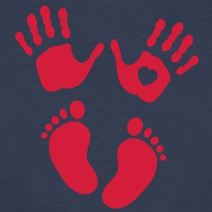 Hands and feet of a baby Tops - Camiseta de tirantes premium mujer
