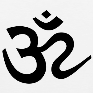 OM Sign Sanskrit Symbol Yoga T-Shirts - Men's Premium Tank Top