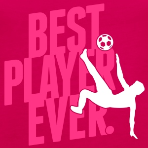 Best player ever - soccer Topper - Premium singlet for kvinner