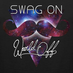 world off swag on T-Shirts - Men's Premium Tank Top