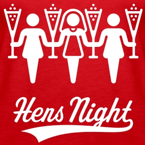 Hens Night, Women's Shoulder-Free Tank Top - Women's Premium Tank Top