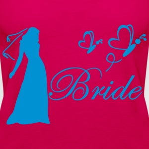 bride Topper - Premium singlet for kvinner