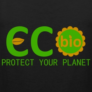 eco bio protect your planet T-Shirts - Männer Premium Tank Top