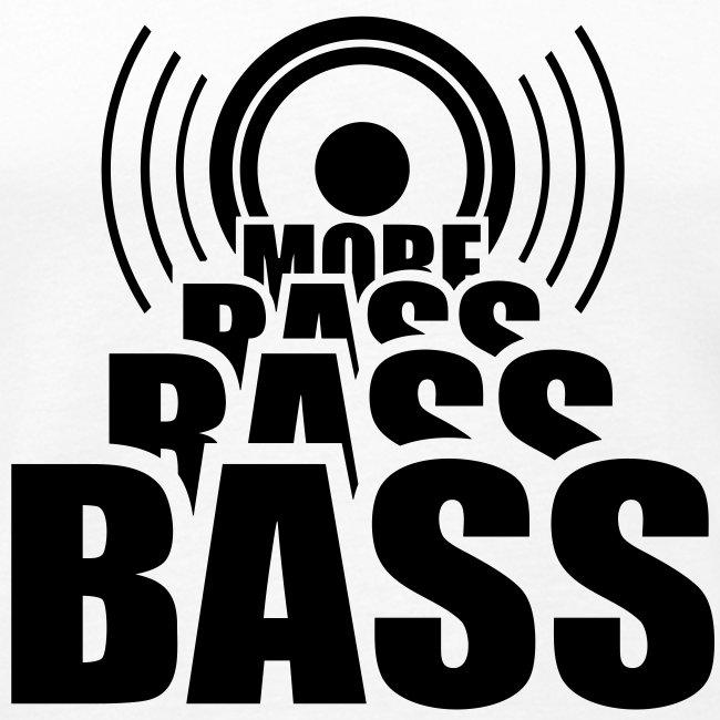 Bass Muskelshirt weiß/schwarz