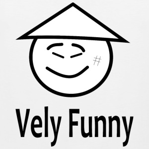 vely funny Tee shirts - Débardeur Premium Homme