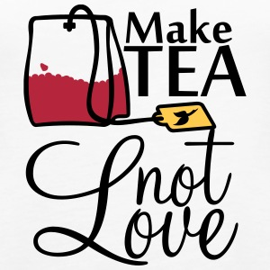 make tea not love (3c) Tops - Women's Premium Tank Top