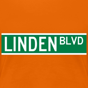 LINDEN BLVD SIGN T-Shirts - Women's Premium T-Shirt
