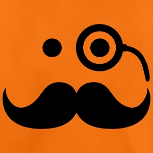 Smiley Mustache T-Shirts - Kinder Premium T-Shirt