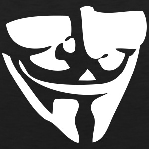 Guy Fawkes / Anonymous mask T-Shirts - Men's Premium Tank Top