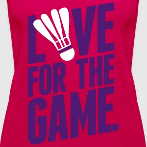 badminton - love for the game Tops - Vrouwen Premium tank top