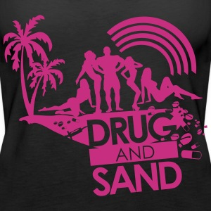 Drug & Sand  - Frauen Premium Tank Top