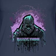 Design ~ Violet Power Gorilla - Women - Color Choice