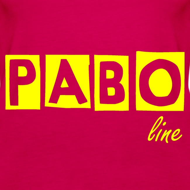 """Frauen Spaghetti Top """"PABO line"""""""