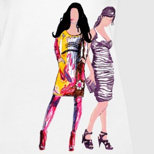 Models auf dem Laufsteg,Fashion Model,,Mannequin, Tops - Frauen Premium Tank Top