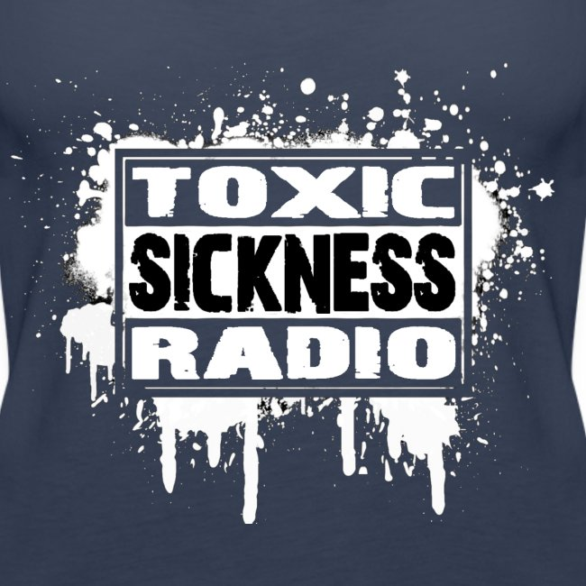 NEW Womens Toxic Sickness Radio Vest Top