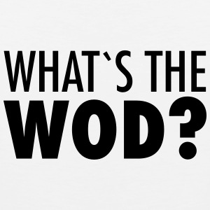 What´s The WOD T-Shirts - Men's Premium Tank Top