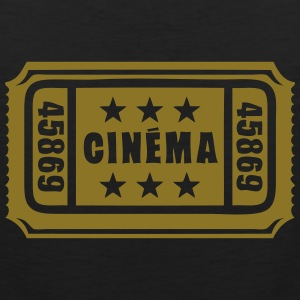 ticket cinema cine entrance 1 Tee shirts - Débardeur Premium Homme