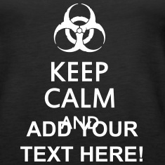 keep calm and toxic  Tops