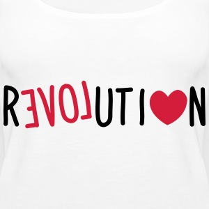Love Revolution Tops - Frauen Premium Tank Top
