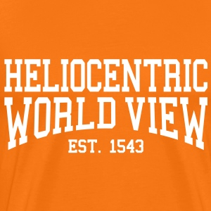 Heliocentric World View - Est. 1543 (Over-Under) T-Shirts - Men's Premium T-Shirt