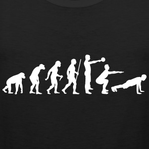 Evolution - Crossfit T-Shirts - Men's Premium Tank Top