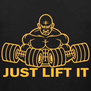 Just Lift It T-Shirts - Men's Premium Tank Top