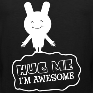 Hug Me - I´m Awesome T-Shirts - Men's Premium Tank Top