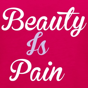Beauty Is Pain Topy - Tank top damski Premium