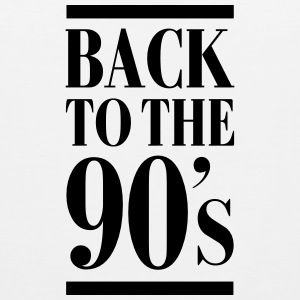 Back To The 90´s T-Shirts - Men's Premium Tank Top