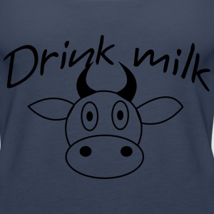 drink milk Tops - Frauen Premium Tank Top