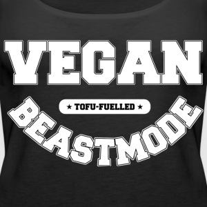 VEGAN BEASTMODE [white] Tops - Frauen Premium Tank Top