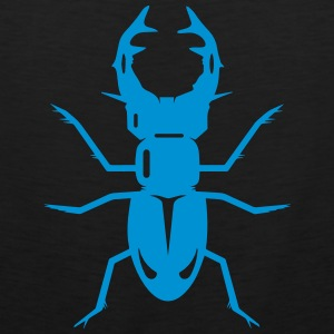 A stag beetle T-Shirts - Men's Premium Tank Top