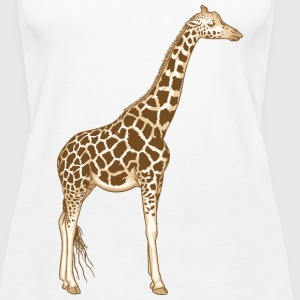 Giraffe Tops - Women's Premium Tank Top