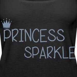 Princess Sparkle Tops - Women's Premium Tank Top