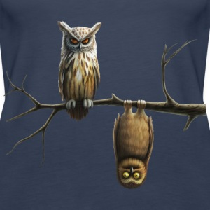 lille ugle (Owls) Toppe - Dame Premium tanktop