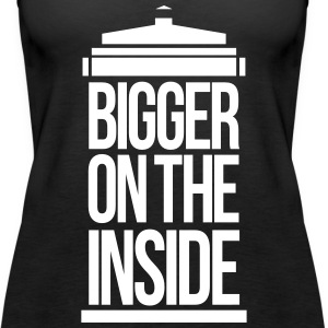 Bigger on the inside Tops - Vrouwen Premium tank top
