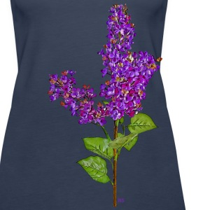 Dark purple lilac Tops - Women's Premium Tank Top