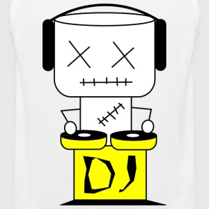 Puppe DJ - XL T-Shirts - Men's Premium Tank Top