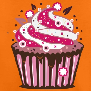A cupcake with frosting Shirts - Teenage Premium T-Shirt