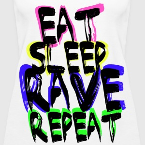 Rave Repeat Tops - Vrouwen Premium tank top