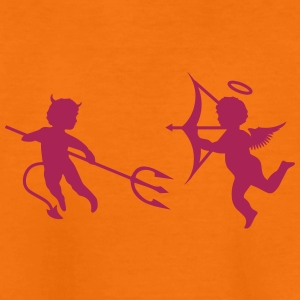 A little devil and a little angel  Shirts - Teenage Premium T-Shirt