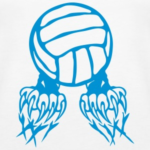Volleyball Ball-Logo Klaue Pfote 2802 Tops - Frauen Premium Tank Top