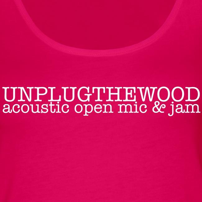 Unplug The Wood Top - ladies 1