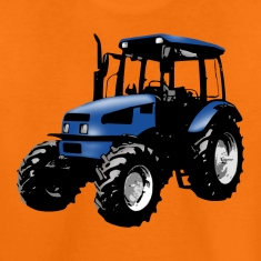 tractor blue Shirts