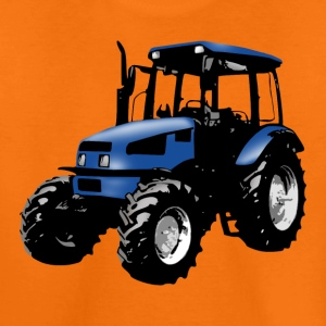tractor blue Shirts - Teenage Premium T-Shirt