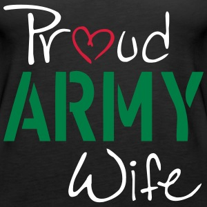 Army Wife Tops - Women's Premium Tank Top