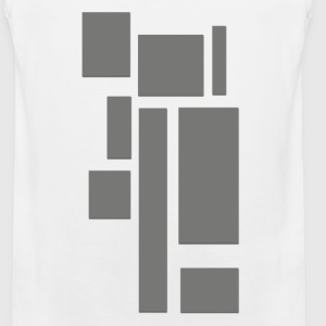 Geometrical construction T-Shirts - Men's Premium Tank Top
