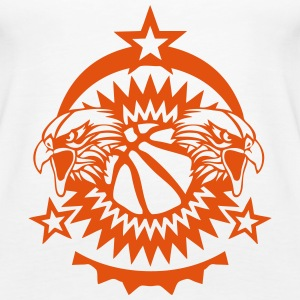 basketball verein Adler-Logo 3 Tops - Frauen Premium Tank Top