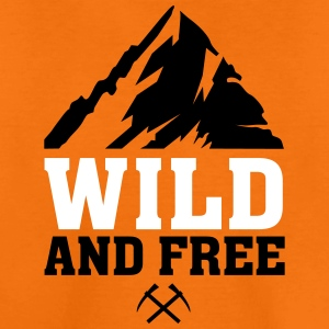WILD AND FREE T-Shirts - Teenager Premium T-Shirt