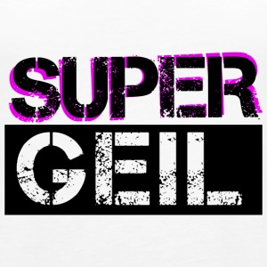 Supergeil Black Tops - Frauen Premium Tank Top
